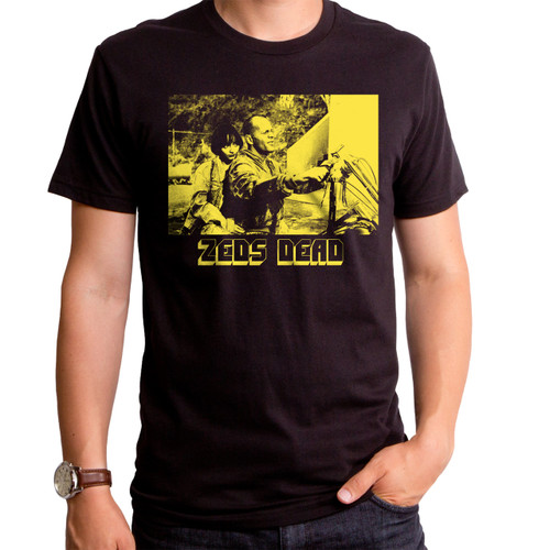 Pulp Fiction Zed's Dead Yellow Men's T-Shirt