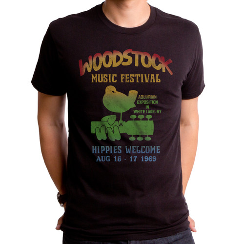Woodstock Music Festival Men's T-Shirt