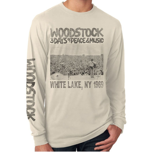 Woodstock Poster Long Sleeve Shirt