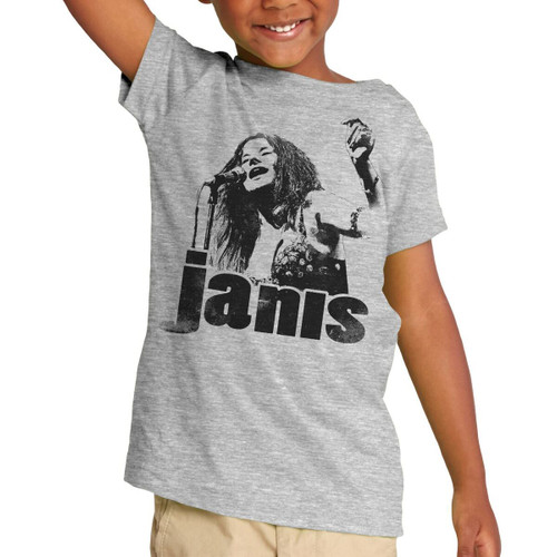 Janis Joplin Sings Bootleg Toddler T-Shirt
