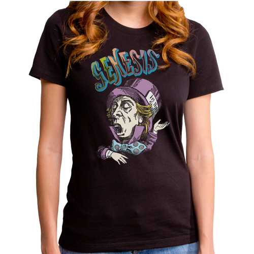 Genesis Mad Hatter Girls T-Shirt