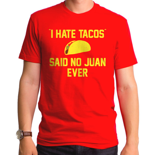 I Hate Tacos Men's T-Shirt