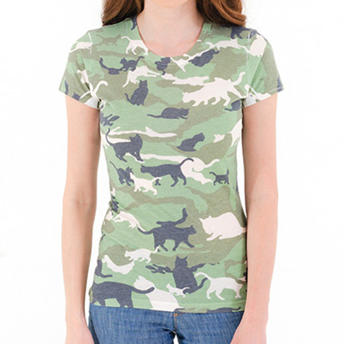 Catmouflage Girls Sublimated T-Shirt