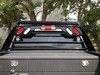 Aluminum Headache Rack shown with (Option C) light package. 1-800-773-3047.