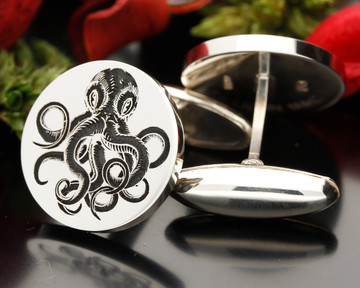 Positive Engraving, design is engraved