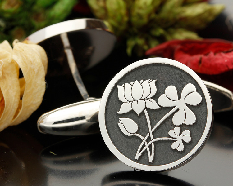 Lotus Flower and Shamrock