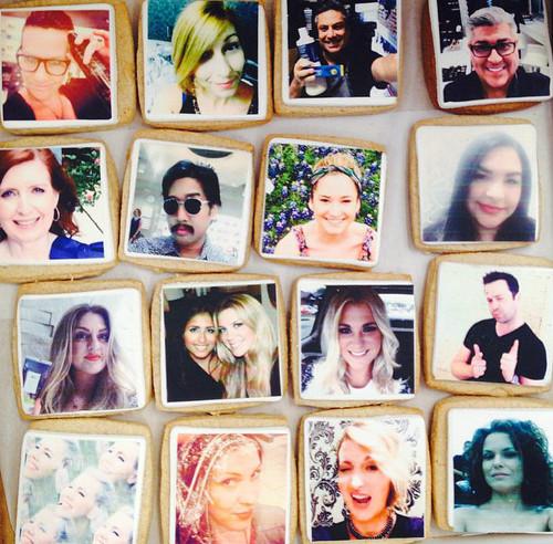 Selfie Photo Cookies