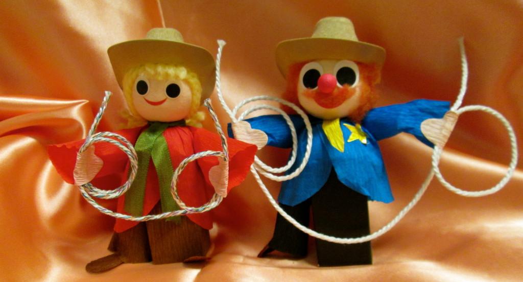 Cowboy OR Cowgirl (2 pcs)