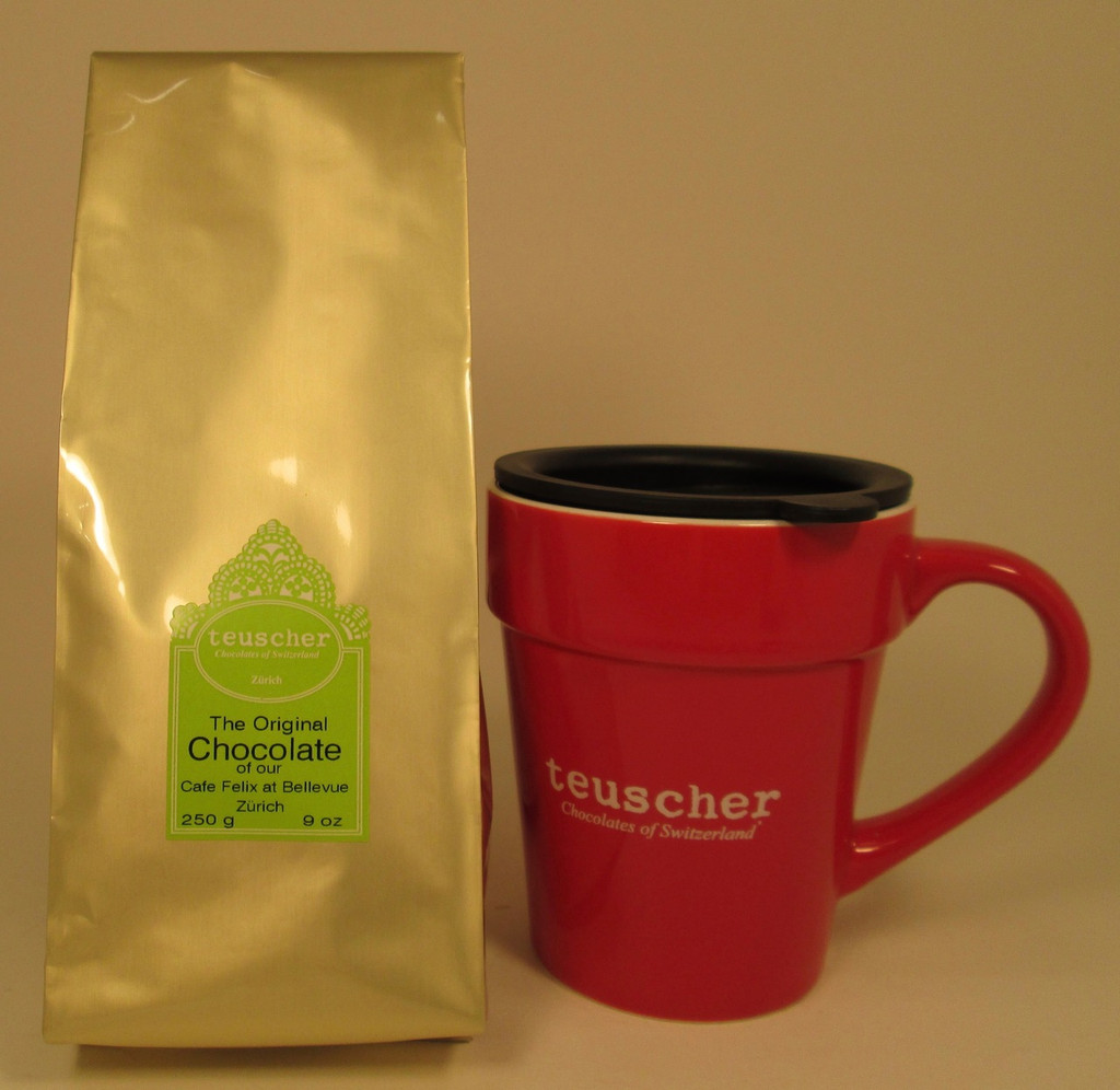 Hot Chocolate Mix (Lb 0.560) & Teuscher Mug