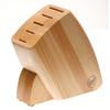 thumbnail image of Sambonet Knives Knife Block only, wood (for 5 knives)