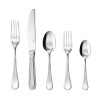 thumbnail image of Perles 18/10 Stainless Steel 5 pcs Place Setting, solid handle