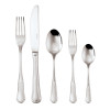 thumbnail image of Petit Baroque 18/10 Stainless Steel 5 pcs Place Setting, solid handle