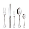 thumbnail image of Perles Silverplated 5 Pcs Place Setting (solid handle knife)