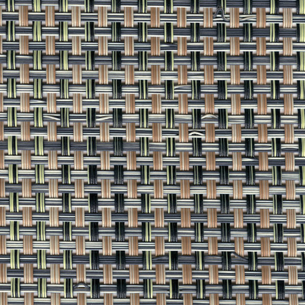 Sambonet Linea Q Table Mats Table mat, light melange, 16 1/2 x 13 inch
