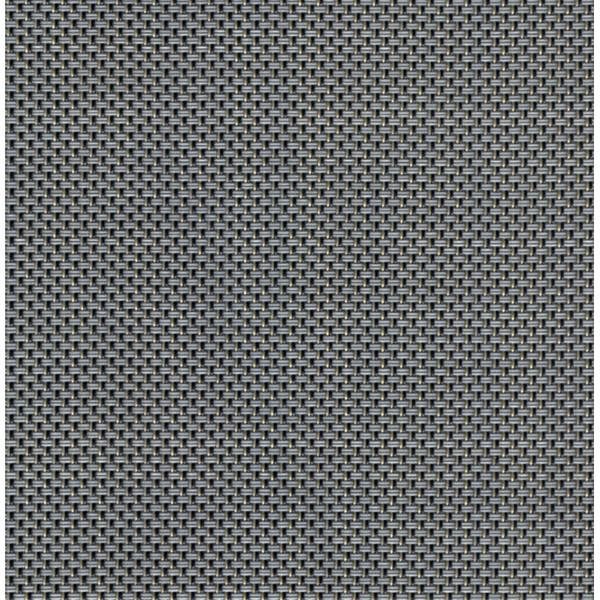 Sambonet Linea Q Table Mats Table mat, grey, 16 1/2 x 13 inch