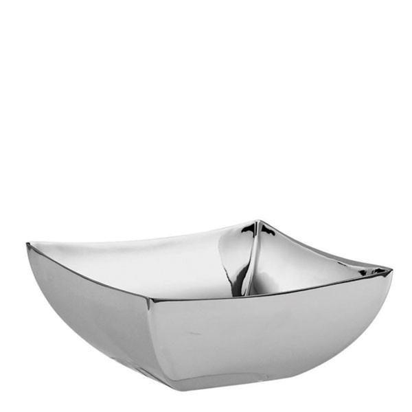 Sambonet Linea Q Square bowl, 4 3/4 x 4 3/4 inch