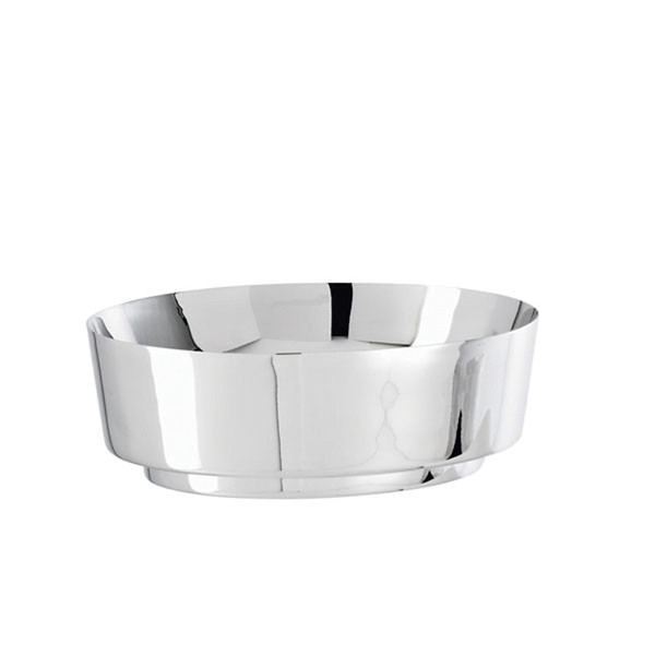 Sambonet T Light Oval bowl, 8 1/4 x 7 1/8 inch