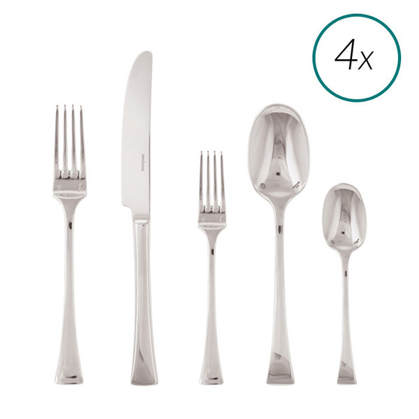 Triennale 18/10 Stainless Steel 20 Pcs Place Setting