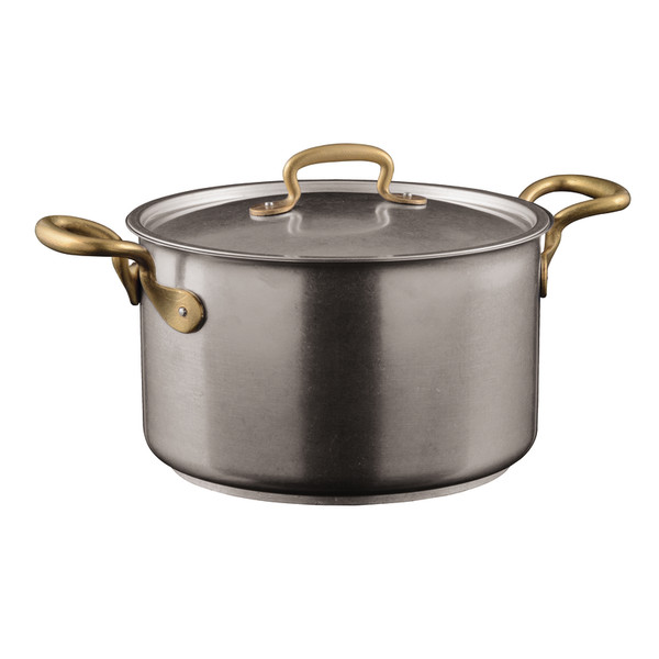 1965 Cookware 18/10 Stainless Steel Saucepan with Lid, 2 handles, 9 1/2 inch, 217 3/5 ounce
