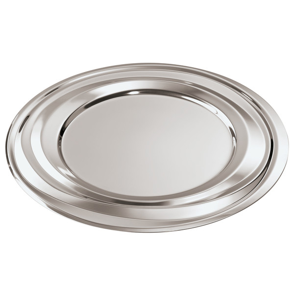 Nendoo 18/10 Stainless Steel Show plate, 13 inch