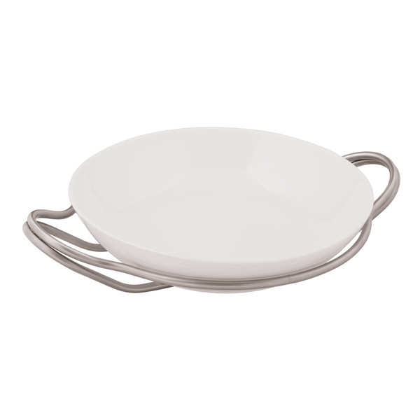 New Living Antico / Porcelain Round rice dish set, 14 1/4 x 3 1/2 inch