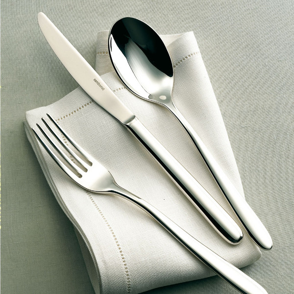 Hannah 18 10 Stainless Steel 5 Pcs Place Setting Solid