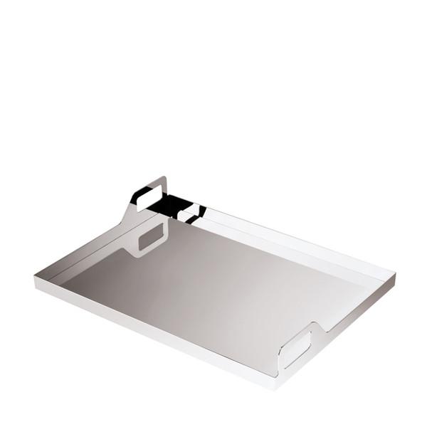 Sambonet Gio Ponti Tray oblong with handles, 17 3/4 x 13 3/4 inch