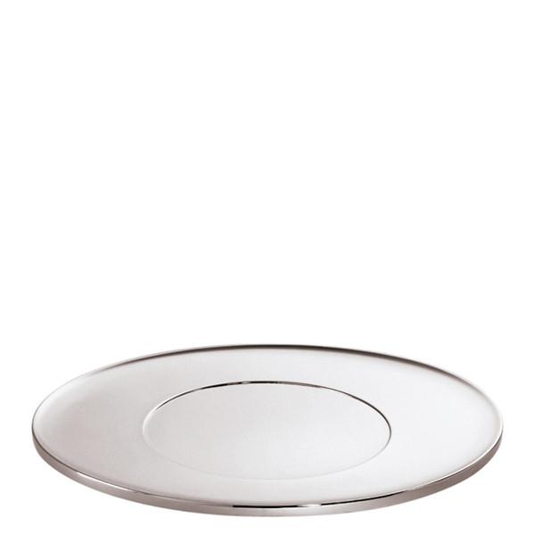 Sambonet T Light Oval show plate, 11 3/4 x 11 3/4 inch