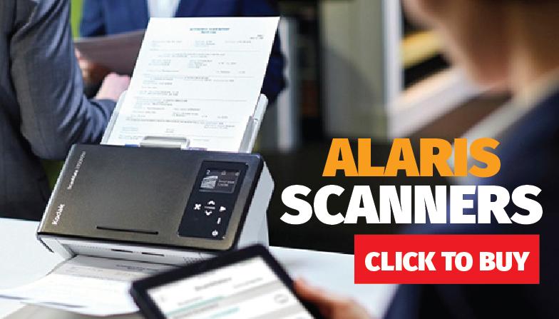 We sell Kodak Alaris Scanners