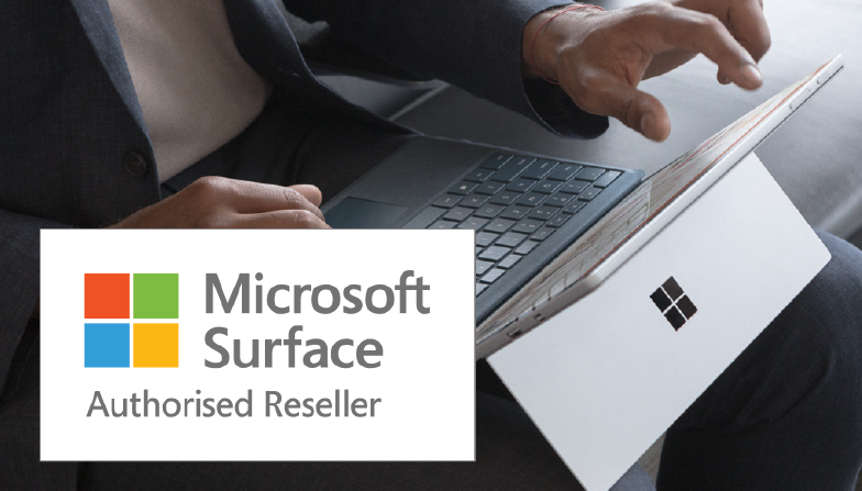 Authorised Reseller for Microsoft Surface