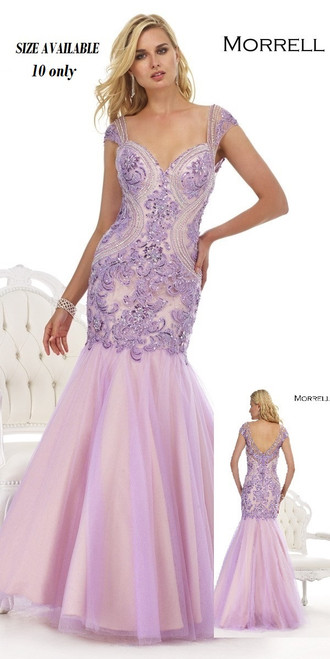 MORRELL MAXIE  STYLE # 14836  COLOR: LILAC      SIZE 10 0NLY   BEFORE $519.00  NOW $299.00     BEAUTIFULL  MERMAID DRESS WITH CUP  SLEEVE  SPECIAL FOR PROM!    FOR MORE IMFORMATION AND PRICE PLEASE GIVE US A CALL    WE BEAT  ALL PRICES !!!!    VIA MIMI FASHION  1333 S. SANTEE ST.    LA,CA.90015    TEL: (213)748-MIMI (6464)    FAX: (213)749-MIMI (6464)     E-Mail: mimi@viamimifashion.com     https://www.facebook.com/viamimifashion       https://www.instagram.com/viamimifashion