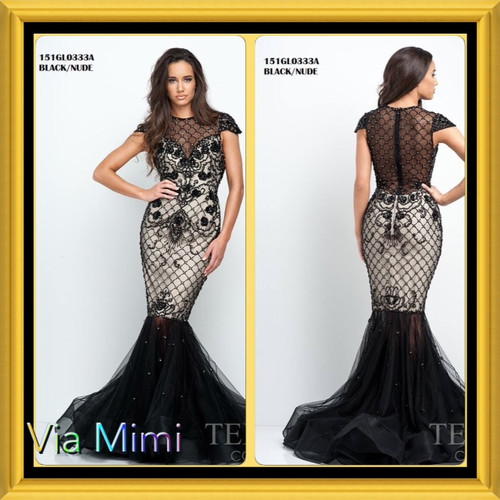 Terani 151GL0333A BEFORE $799.00    NOW $359.00   BLACK /GOLD EVENING DRESS      FOR PRICE OR MORE IMFORMATION PLEASE GIVE US A CALL  VIA MIMI FASHION  1333 S. SANTEE ST   LA,CA.90015  TEL: (213)748-MIMI (6464)  FAX: (213)749-MIMI (6464)  E-Mail: mimi@viamimifashion.com  https://www.facebook.com/viamimifashion  https://www.instagram.com/viamimifashion  https://twitter.com/viamimifashion