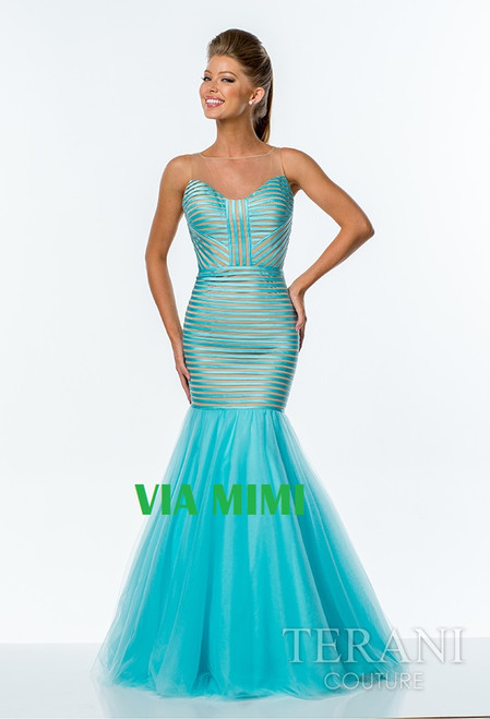 Terani 151P0106A   BEFORE $599.00    NOW $279.00  BLUE/NUDE SIZE 6  BLACK/NUDE SIZE 12    FOR PRICE OR MORE IMFORMATION PLEASE GIVE US A CALL  VIA MIMI FASHION  1333 S. SANTEE ST   LA,CA.90015  TEL: (213)748-MIMI (6464)  FAX: (213)749-MIMI (6464)  E-Mail: mimi@viamimifashion.com  https://www.facebook.com/viamimifashion  https://www.instagram.com/viamimifashion  https://twitter.com/viamimifashion