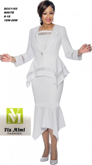 DORINDA CLARK  STYLE #DCC1153 -   COLOR: WHITE  SIZE: 8-18  _______ 16W-26W  FOR MORE IMFORMATION AND PRICE PLEASE GIVE US A CALL   WE BEAT  ALL PRICES !!!!  VIA MIMI FASHION  1333 S. SANTEE ST.  LA,CA.90015  TEL: (213)748-MIMI (6464)  FAX: (213)749-MIMI (6464)  E-Mail: mimi@viamimifashion.com  http://viamimifashion.com  https://www.facebook.com/viamimifashion    https://www.instagram.com/viamimifashion  https://twitter.com/viamimifashion