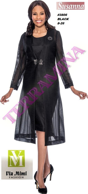 SUSANA STYLE #3806 - 2 PC SET  COLOR: BLACK  SIZE: 8-26  FOR MORE IMFORMATION AND PRICE PLEASE GIVE US A CALL   WE BEAT  ALL PRICES !!!!  VIA MIMI FASHION  1333 S. SANTEE ST.  LA,CA.90015  TEL: (213)748-MIMI (6464)  FAX: (213)749-MIMI (6464)  E-Mail: mimi@viamimifashion.com  http://viamimifashion.com  https://www.facebook.com/viamimifashion    https://www.instagram.com/viamimifashion  https://twitter.com/viamimifashion