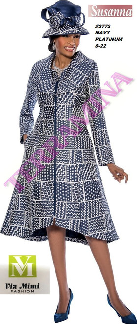 SUSANA STYLE #3772 - 1 PC DRESS  COLOR: NAVY, PLATINUM  SIZE: 8-22  FOR MORE IMFORMATION AND PRICE PLEASE GIVE US A CALL   WE BEAT  ALL PRICES !!!!  VIA MIMI FASHION  1333 S. SANTEE ST.  LA,CA.90015  TEL: (213)748-MIMI (6464)  FAX: (213)749-MIMI (6464)  E-Mail: mimi@viamimifashion.com  http://viamimifashion.com  https://www.facebook.com/viamimifashion    https://www.instagram.com/viamimifashion  https://twitter.com/viamimifashion