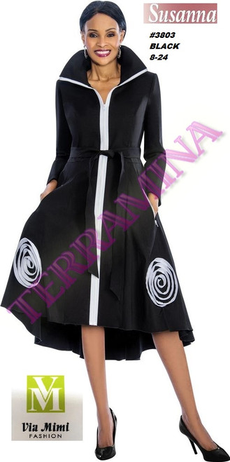 SUSANA STYLE #3803 - 1 PC DRESS  COLOR: BLACK  SIZE: 8-24  FOR MORE IMFORMATION AND PRICE PLEASE GIVE US A CALL   WE BEAT  ALL PRICES !!!!  VIA MIMI FASHION  1333 S. SANTEE ST.  LA,CA.90015  TEL: (213)748-MIMI (6464)  FAX: (213)749-MIMI (6464)  E-Mail: mimi@viamimifashion.com  http://viamimifashion.com  https://www.facebook.com/viamimifashion    https://www.instagram.com/viamimifashion  https://twitter.com/viamimifashion
