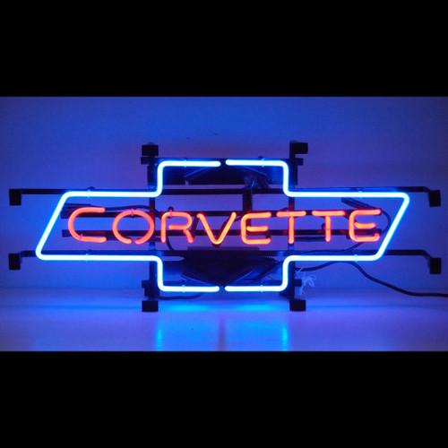 Corvette Bowtie Neon Sign Neon4less Com