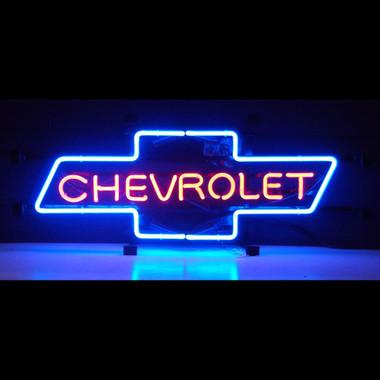 Chevrolet Bowtie Neon Sign Neon4less Com