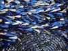 Blue Sequin Showgirl Dress