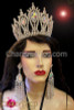 CHARISMATICO Classic and Classy Iridescent Crystal and Rhinestone Diva's Pageant Crown