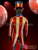 CHARISMATICO American flag Inspired Sequined Performance Jacket and Tall Hat