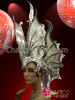 Butterfly wings charming tiara DRAG QUEEN DIVA FUTURISTIC STUNNING Headdress