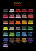 Charismatico Colorful Latin Styled Rainbow Gay Pride Fringe Dance Mini-Dress