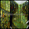 CHARISMATICO Curve Boosting Golden Drag Queen Pageant Gown with Matching Feathered Wings