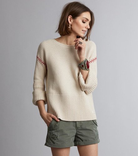 Odd Molly Stunning Sweater - light porcelain