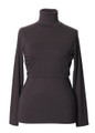 Jackie Polo Neck Top (color pip)