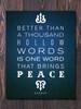 Buddha Peace Art Print