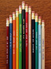 Fun gift idea. Everyone can use a pencil!