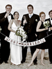 Personalized Just Married Sunshine Garland